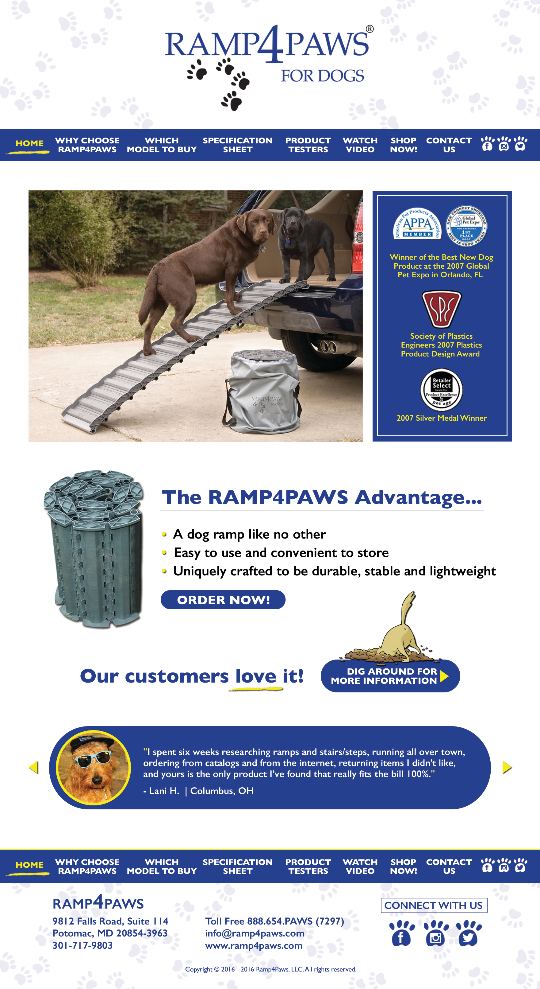 Ramp4Paws for Dogs